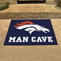 "NFL - Denver Broncos Man Cave All-Star 33.75""x42.5"""