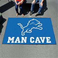 "NFL - Detroit Lions Man Cave UltiMat 59.5""x94.5"""