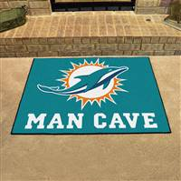 "NFL - Miami Dolphins Man Cave All-Star 33.75""x42.5"""