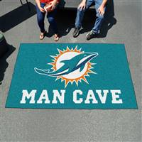 "NFL - Miami Dolphins Man Cave UltiMat 59.5""x94.5"""
