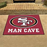 "NFL - San Francisco 49ers Man Cave All-Star 33.75""x42.5"""