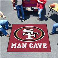 "NFL - San Francisco 49ers Man Cave Tailgater 59.5""x71"""