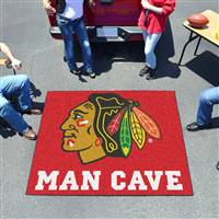 "NHL - Chicago Blackhawks Man Cave Tailgater 59.5""x71"""