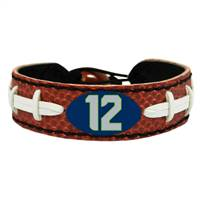 Seattle Seahawks Bracelet Classic Football 12th Man Design