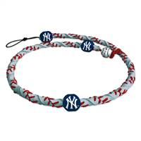 New York Yankees Necklace Frozen Rope Reflective Baseball