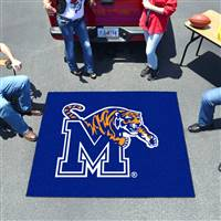 "University of Memphis Tailgater Mat 59.5""x71"""