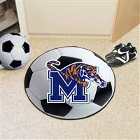 "University of Memphis Soccer Ball Mat 27"" diameter"
