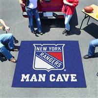 "NHL - New York Rangers Man Cave Tailgater 59.5""x71"""