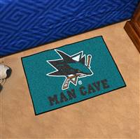 "NHL - San Jose Sharks Man Cave Starter 19""x30"""