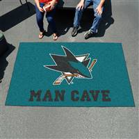 "NHL - San Jose Sharks Man Cave UltiMat 59.5""x94.5"""