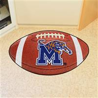 "University of Memphis Football Mat 20.5""x32.5"""