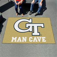 "Georgia Tech Man Cave UltiMat 59.5""x94.5"""