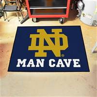 "Notre Dame Man Cave All-Star 33.75""x42.5"""