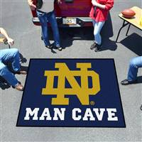 "Notre Dame Man Cave Tailgater 59.5""x71"""