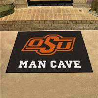 "Oklahoma State University Man Cave All-Star 33.75""x42.5"""