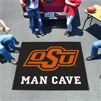 "Oklahoma State University Man Cave Tailgater 59.5""x71"""