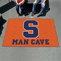 "Syracuse University Man Cave UltiMat 59.5""x94.5"""