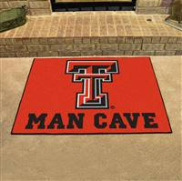 "Texas Tech University Man Cave All-Star 33.75""x42.5"""