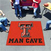 "Texas Tech University Man Cave Tailgater 59.5""x71"""