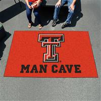 "Texas Tech University Man Cave UltiMat 59.5""x94.5"""