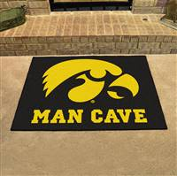 "University of Iowa Man Cave All-Star 33.75""x42.5"""