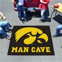 "University of Iowa Man Cave Tailgater 59.5""x71"""