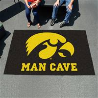 "University of Iowa Man Cave UltiMat 59.5""x94.5"""