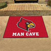 "University of Louisville Man Cave All-Star 33.75""x42.5"""