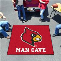 "University of Louisville Man Cave Tailgater 59.5""x71"""