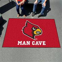 "University of Louisville Man Cave UltiMat 59.5""x94.5"""