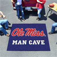 "University of Mississippi (Ole Miss) Man Cave Tailgater 59.5""x71"""