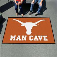 "University of Texas Man Cave UltiMat 59.5""x94.5"""