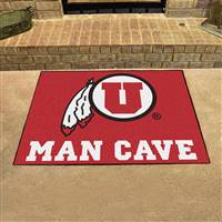 "University of Utah Man Cave All-Star 33.75""x42.5"""