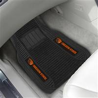 "Oregon State University 2-pc Deluxe Car Mat Set 21""x27"""