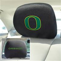 "University of Oregon Head Rest Cover 10""x13"""