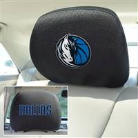 "NBA - Dallas Mavericks Head Rest Cover 10""x13"""