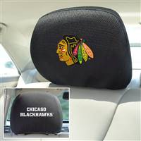 "NHL - Chicago Blackhawks Head Rest Cover 10""x13"""