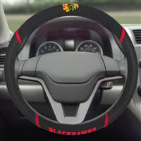 "NHL - Chicago Blackhawks Steering Wheel Cover 15""x15"""