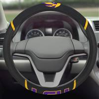 "Louisiana State University Steering Wheel Cover 15""x15"""