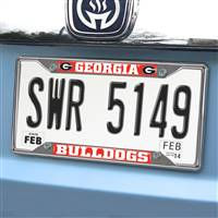 "University of Georgia License Plate Frame 6.25""x12.25"""