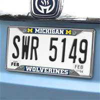 "University of Michigan License Plate Frame 6.25""x12.25"""
