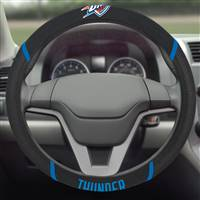 "NBA - Oklahoma City Thunder Steering Wheel Cover 15""x15"""