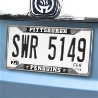 "NHL - Pittsburgh Penguins License Plate Frame 6.25""x12.25"""