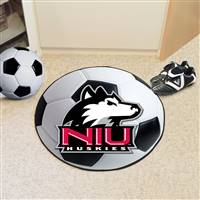 "Northern Illinois University Soccer Ball Mat 27"" diameter"