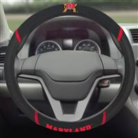 "University of Maryland Steering Wheel Cover 15""x15"""