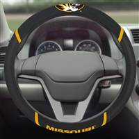 "University of Missouri Steering Wheel Cover 15""x15"""