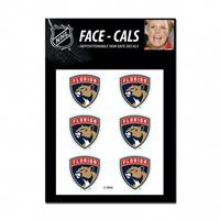 Florida Panthers Tattoo Face Cals Special Order