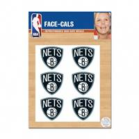 Brooklyn Nets Tattoo Face Cals Special Order