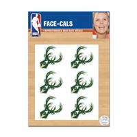 Milwaukee Bucks Tattoo Face Cals Special Order