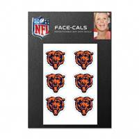 Chicago Bears Tattoo Face Cals
